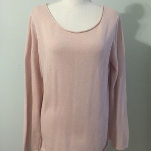 Old Navy Classic Lightweight Sweater Pink Elephant